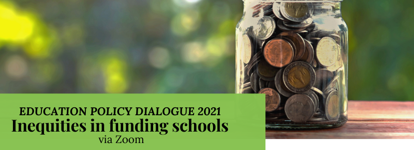 Policy Dialogue #12: Inequities in Funding Schools